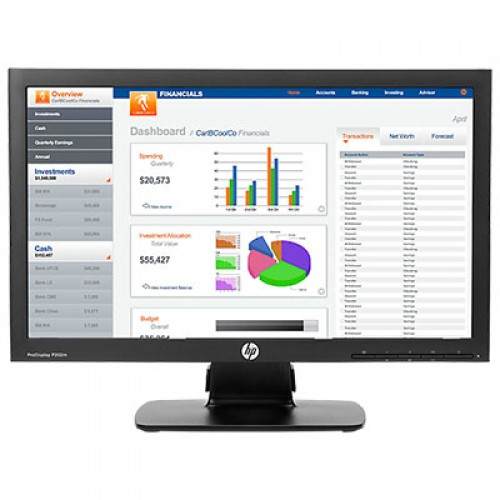 "HP Business P202m 20"" LED LCD Monitor"