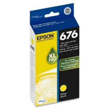 Epson DURABrite Ultra 676XL Yellow Ink Cartridge