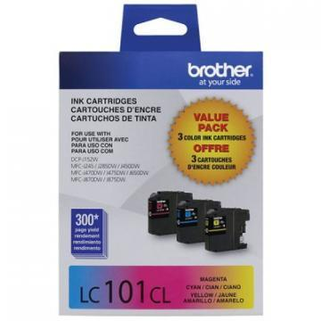 Brother Innobella LC1013PKS Tri-Pack Ink Cartridge