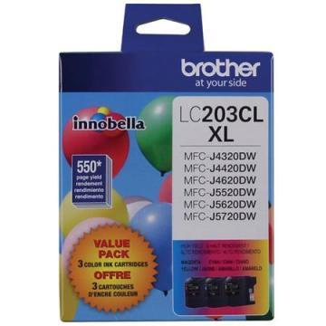 Brother Innobella LC2033PKS Tri-Pack Ink Cartridge