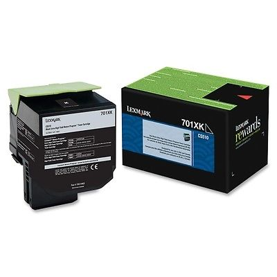 Lexmark Unison 701XK Toner Cartridge Black