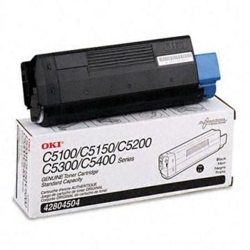 Oki Type C6 Black Toner Cartridge
