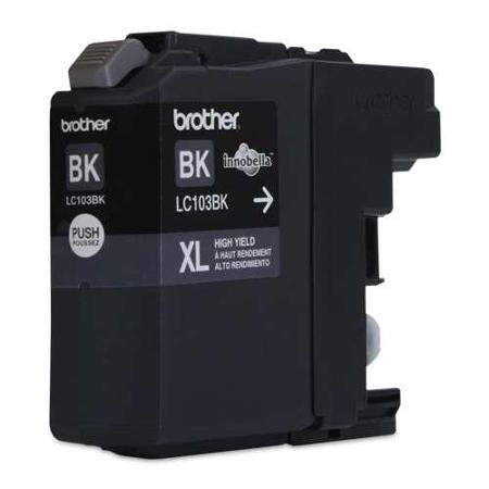 Brother LC103BK XL Black Ink Cartridge