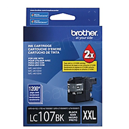 Brother LC107BK Innobella XXL Black Ink Cartridge