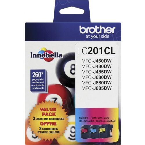 Brother LC2013PKS 3-Pack Innobella Color Ink Cartridges