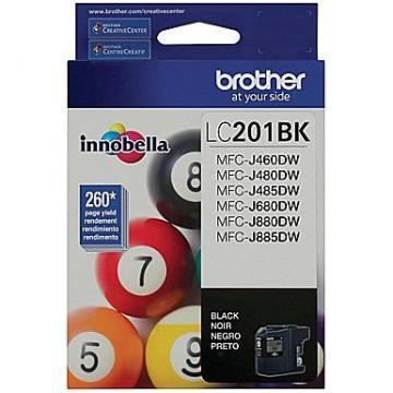 Brother LC201BK Innobella Black Ink Cartridge