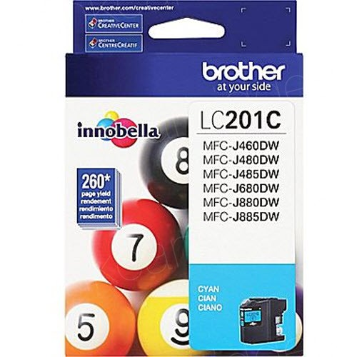 Brother LC201C Innobella Cyan Ink Cartridge