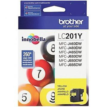 Brother LC201Y Innobella Yellow Ink Cartridge