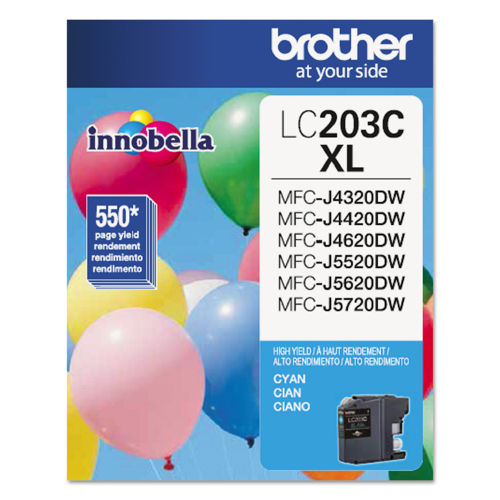 Brother LC203C Innobella XL Cyan Ink Cartridge