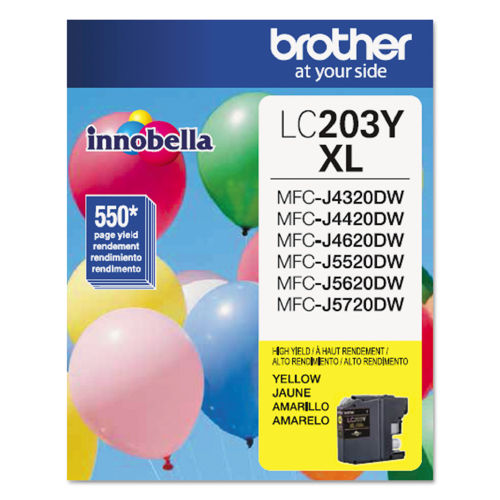 Brother LC203Y Innobella XL Yellow Ink Cartridge