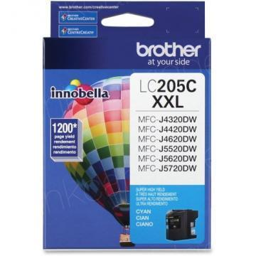 Brother LC205C Innobella XXL Cyan Ink Cartridge