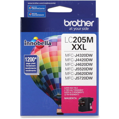 Brother LC205M Innobella XXL Magenta Ink Cartridge
