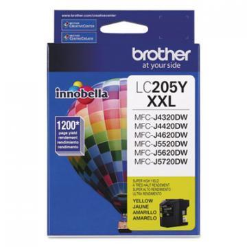 Brother LC205Y Innobella XXL Yellow Ink Cartridge