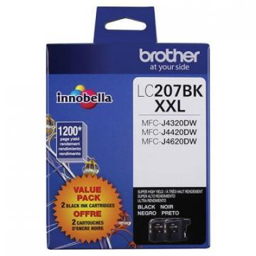 Brother LC2072PKS 2-Pack Innobella XXL Black Ink Cartridges