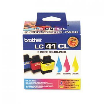 Brother LC413PKS 3-Pack Color Ink Cartridges