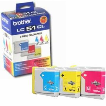 Brother LC513PKS 3-Pack Color Ink Cartridges