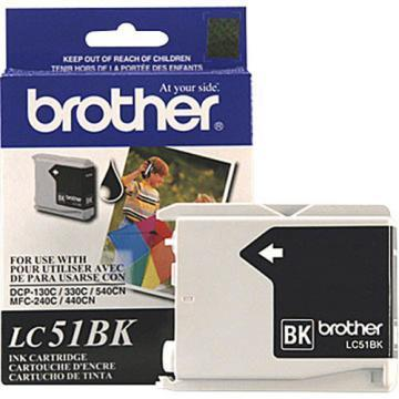 Brother LC51BK Black Ink Cartridges