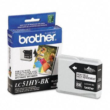 Brother LC51HYBK High Yield Black Ink Cartridge