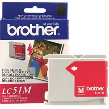 Brother LC51M Magenta Ink Cartridges