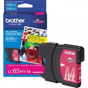 Brother LC65HYM Innobella High Yield Magenta Ink Cartridge