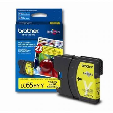 Brother LC65HYY Innobella High Yield Yellow Ink Cartridge