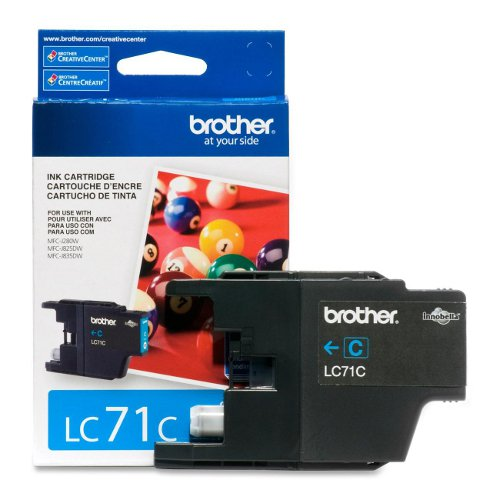 Brother LC71C Innobella Cyan Ink Cartridge