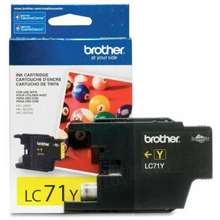 Brother LC71Y Innobella Yellow Ink Cartridge