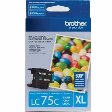 Brother LC75C Innobella XL Cyan Ink Cartridge