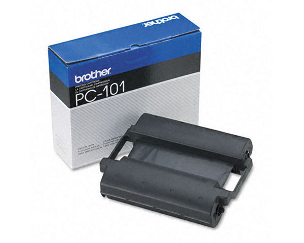Brother PC-101 PPF Print Cartridge with Ribbon