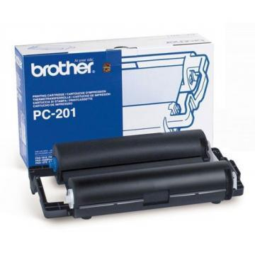 Brother PC-201 PPF Print Cartridge with Ribbon
