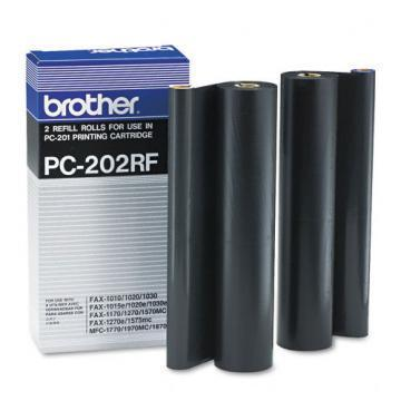 Brother PC-202RF Refill Rolls for PC201 PPF Print Cartridge