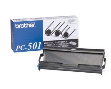 Brother PC-501 Print Cartridge with Ribbon