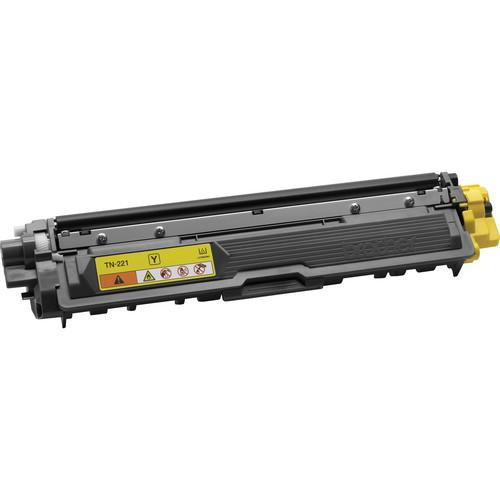 Brother TN221Y Yellow Toner