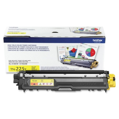 Brother TN225Y Yellow Toner