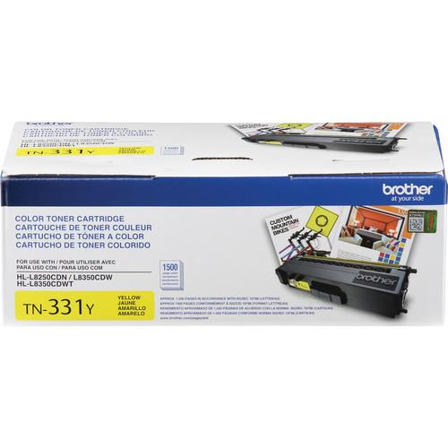 Brother TN331Y Yellow Toner