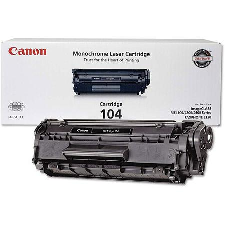 Canon CRG-104 Black Toner Cartridge
