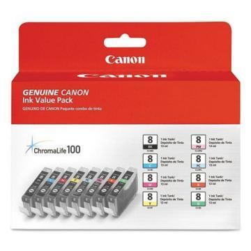 Canon CLI-8 Eight Color Pack