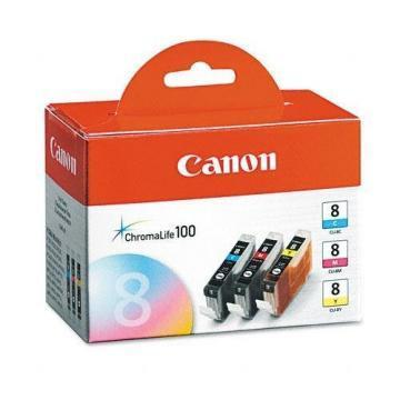 Canon CLI-8 3-Pack CMY Value Pack