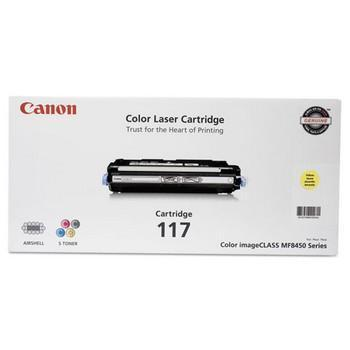 Canon CRG-117Y Yellow Toner Cartridge