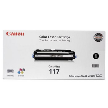 Canon CRG-117BK Black Toner Cartridge
