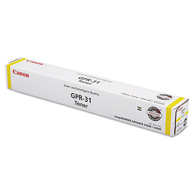 Canon GPR-31 Yellow Toner Cartridge
