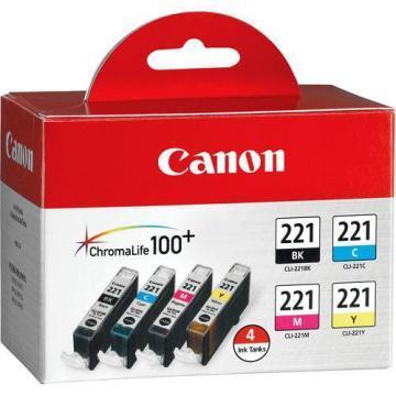 Canon CLI-221 4 Color Pack