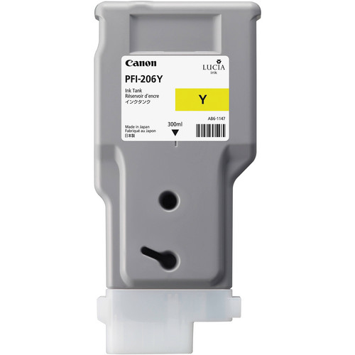Canon PFI-206Y Yellow Ink Tank