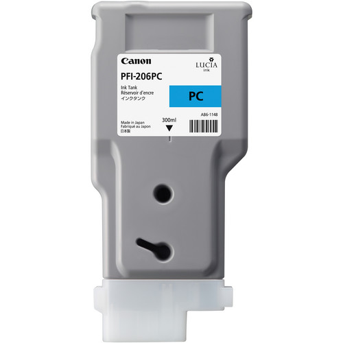 Canon PFI-206PC Photo Cyan Ink Tank