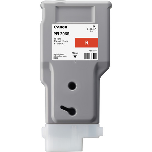 Canon PFI-206R Red Ink Tank