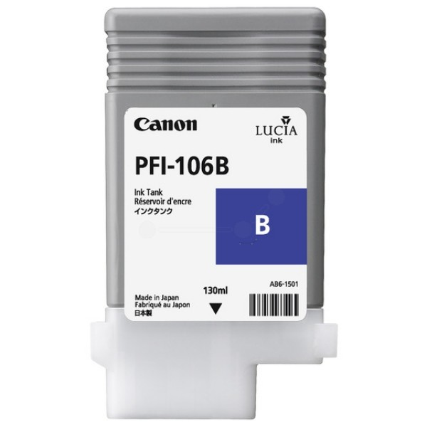 Canon PFI-106B Blue Ink