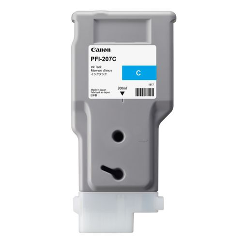 Canon PFI-207C Cyan Ink Cartridge