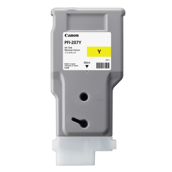 Canon PFI-207Y Yellow Ink Cartridge