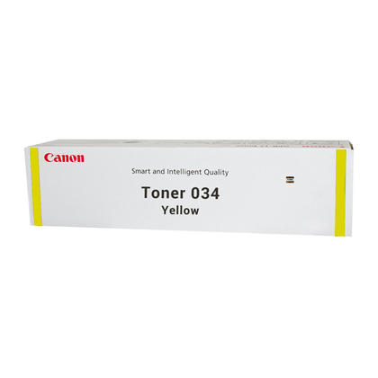 Canon 034 Yellow Toner Cartridge