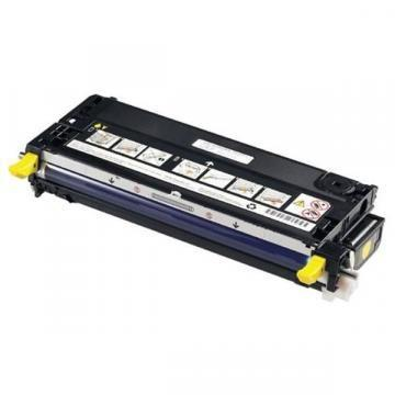 Dell NF556 Yellow Toner Cartridge (XG724)